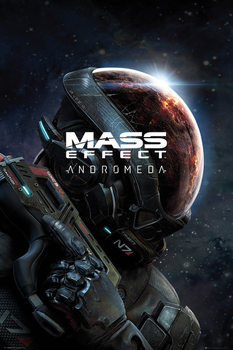 Juliste  Mass Effect Andromeda - Key Art
