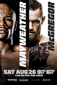 Juliste  Mayweather vs McGregor: Fight Poster