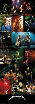 Juliste Metallica - live 2012