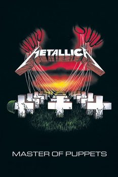Juliste  Metallica - master of puppets