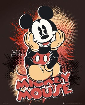 Juliste MICKEY MOUSE - sitting