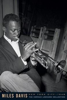 Juliste Miles Davis - leonard