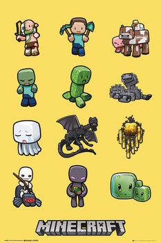 Juliste  Minecraft - characters