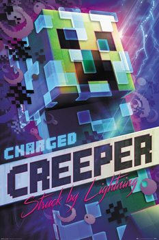 Juliste Minecraft - Charged Creeper