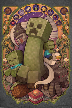 Juliste  Minecraft - Creeper Nouveau