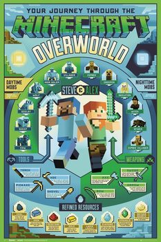 Juliste Minecraft - Overworld Biome
