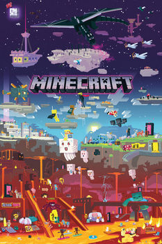 Juliste  Minecraft - World Beyond