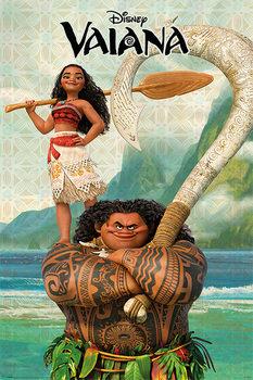 Juliste Moana - Vaiana & Maui