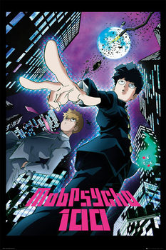 Juliste  Mob Psycho 100 - City