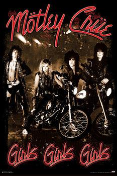 Juliste Mötley Crüe - Girls Girls Girls