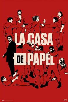 Juliste Money Heist (La Casa De Papel) - All Characters