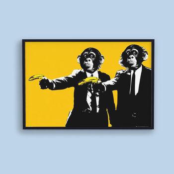 Juliste Monkeys - bananas