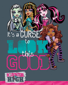 Juliste Monster High - Look This Good