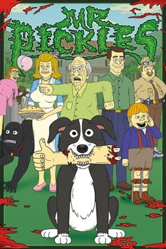 Juliste  Mr. Pickles - Characters