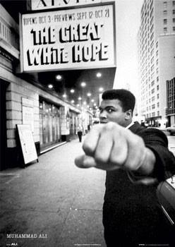 Juliste Muhammad Ali - great white