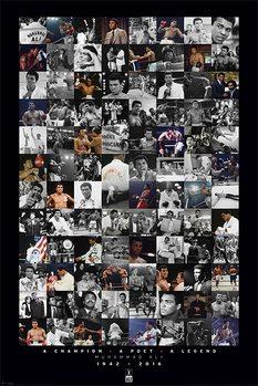 Juliste Muhammad Ali - Montage