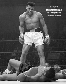 Juliste Muhammad Ali - portrait