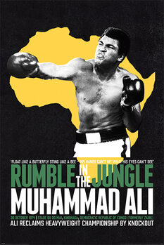Juliste Muhammad Ali - Rumble in the Jungle