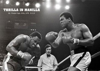 Juliste Muhammad Ali - thrilla