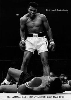 Juliste Muhammad Ali - vs. Sonny Liston