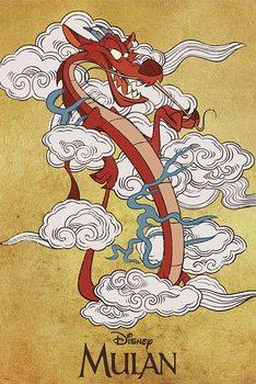Juliste Mulan - Mushu