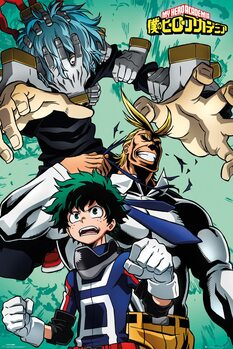 Juliste My Hero Academia - Collage