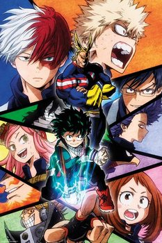 Juliste  My Hero Academia