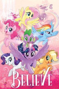 Juliste  My Little Pony: Elokuva - Believe