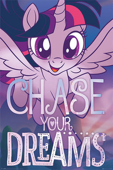 Juliste  My Little Pony: Elokuva - Chase Your Dreams