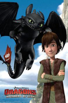 Juliste Näin koulutat lohikäärmeesi 2 - Toothless