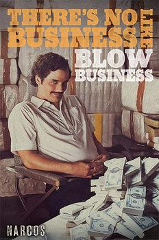 Juliste Narcos - No Business