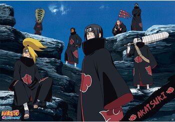 Juliste Naruto - Akatsuki