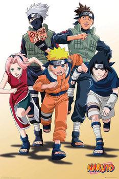 Juliste Naruto - Run