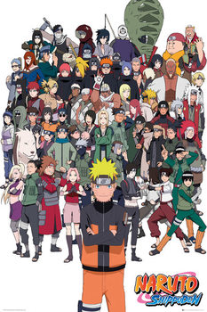 Juliste Naruto Shippuden - Group