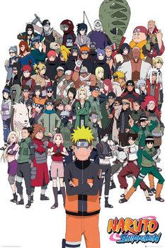 Juliste Naruto Shippuden - Group