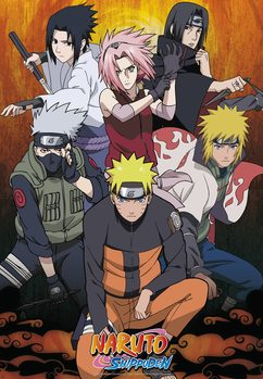 Juliste  Naruto Shippuden