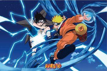 Juliste Naruto Shippuden - Naruto & Sasuke