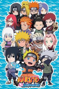 Juliste Naruto Shippuden - SD Compilation