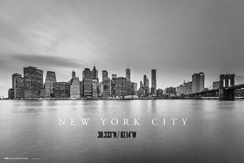 Juliste New York City Skyline