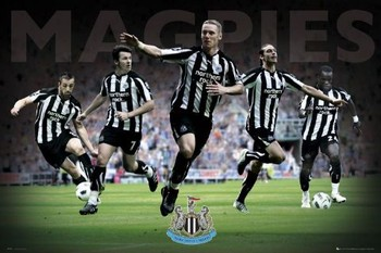 Juliste Newcastle - players 2010/2011