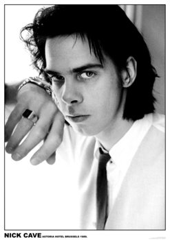Juliste Nick Cave - Astoria Hotel, Brussels