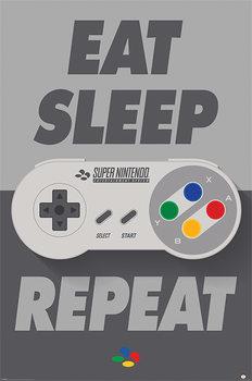 Juliste  Nintendo - SNES Controller
