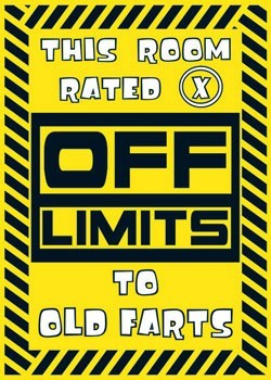 Juliste Off limits - X Rated