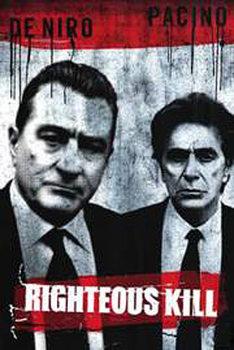 Juliste Oikeuden kasvot - Robert de Niro, Al Pacino