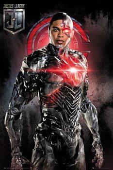 Juliste Oikeuden puolustajat - Cyborg Solo