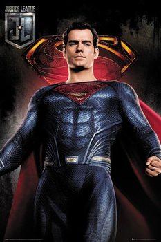 Juliste  Oikeuden puolustajat - Superman