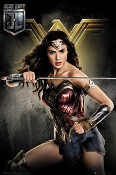 Juliste Oikeuden puolustajat - Wonder Woman