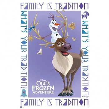 Juliste Olaf Frozen Adventure Olaf & Sven