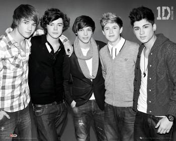 Juliste One Direction - b&w