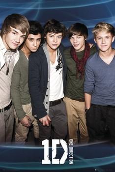 Juliste One Direction Blue